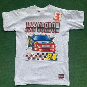 Vintage Jeff Gordon Double Side Nutmeg NWT L